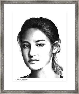 Tris Framed Print by Greg Joens