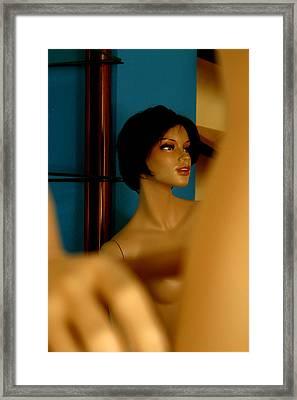 Trish Framed Print by Jez C Self