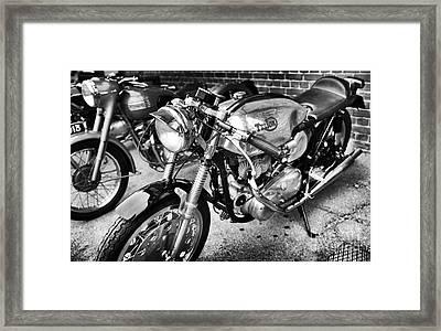 Triton Monochrome  Framed Print