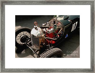Triumph 9 1939 Framed Print by Curt Johnson