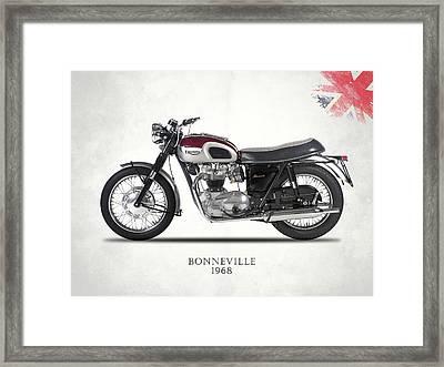 Triumph Bonneville T120 1968 Framed Print by Mark Rogan