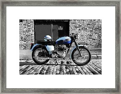 Triumph Bonneville T120 Framed Print