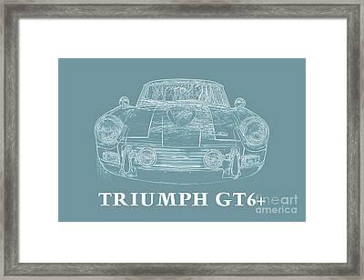 Triumph Gt6 Plus Framed Print