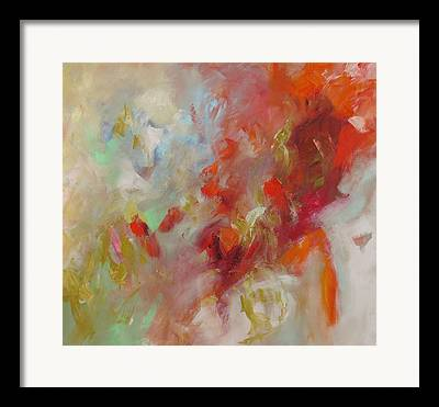 Abstract Expressionist Framed Prints