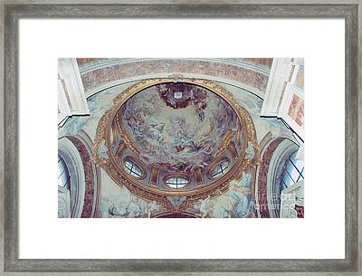 Triumph Of Saint Catherine Framed Print