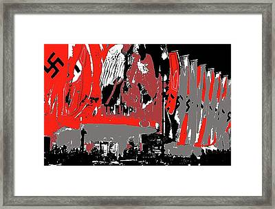 Triumph Of The Will  Premier Ufa Palace Theater 1935 Berlin Germany Color Added 2016 Framed Print