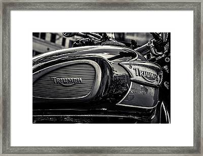 Triumph  Framed Print by Off The Beaten Path Photography - Andrew Alexander