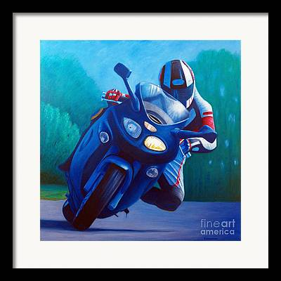 Motorcycle Framed Prints