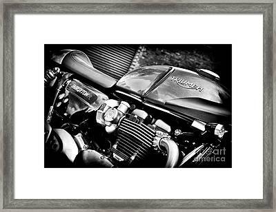 Triumph Thruxton 1200 R Framed Print