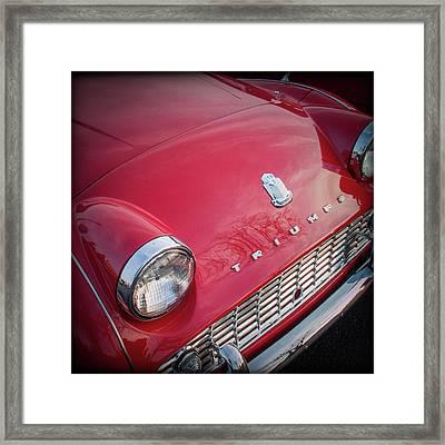 Triumph Tr3 Framed Print