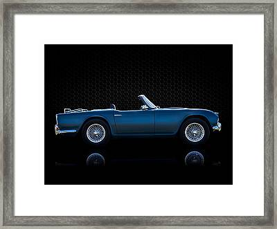 Triumph Tr4 Framed Print by Douglas Pittman