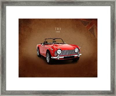 Triumph Tr5 1968 Framed Print