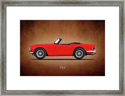 Triumph Tr6 Framed Print