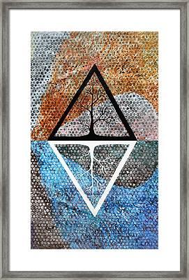 Trivah Opposite Framed Print