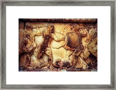 Trojan War Framed Print by Andonis Katanos