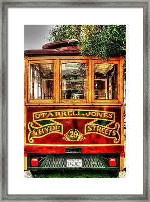 Trolley Framed Print