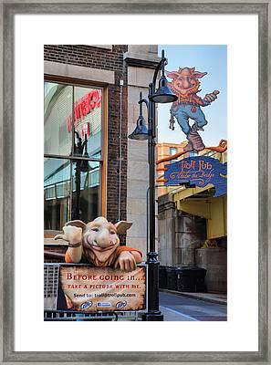 Trolls On Whiskey Row I Framed Print by Steven Ainsworth