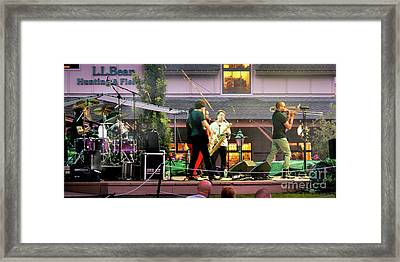 Trombone Shorty And Orleans Avenue, Freeport, Maine   -57584 Framed Print by John Bald