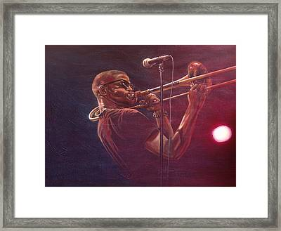 Trombone Shorty Framed Print