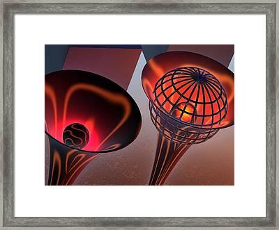 Trombones Framed Print