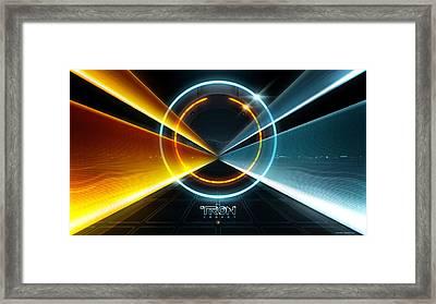 Tron Legacy Movie Framed Print