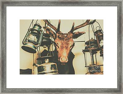Trophy Horrors Framed Print