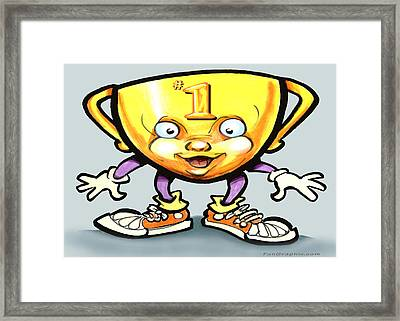Trophy Framed Print by Kevin Middleton