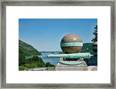 Trophy Point Framed Print
