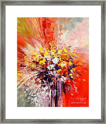 Tropic Intensity Framed Print by Tatiana Iliina