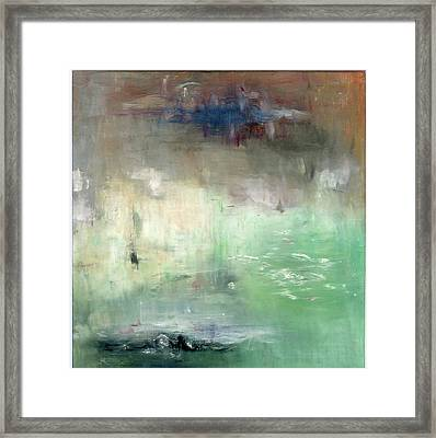 Framed Print featuring the painting Tropic Waters by Michal Mitak Mahgerefteh