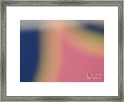 Tropical Abstract Framed Print by Alexander Van Berg