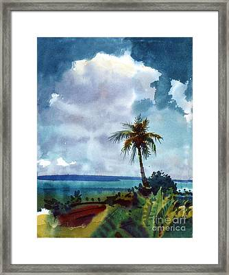 Tropical Afternoon Framed Print