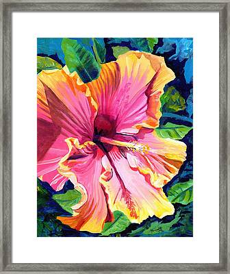Tropical Bliss Hibiscus Framed Print