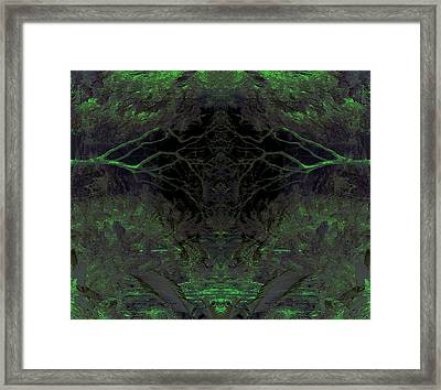 Tropical Bower Framed Print