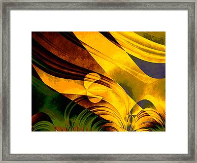 Tropical Breeze Framed Print by Vic Eberly