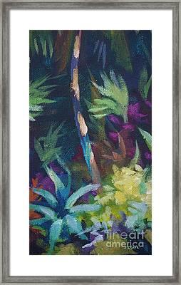 Tropical Charm Framed Print