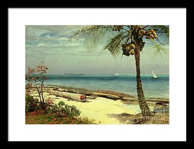 Indian Ocean Framed Prints