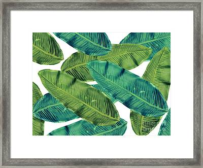Tropical Colors 2 Framed Print by Mark Ashkenazi