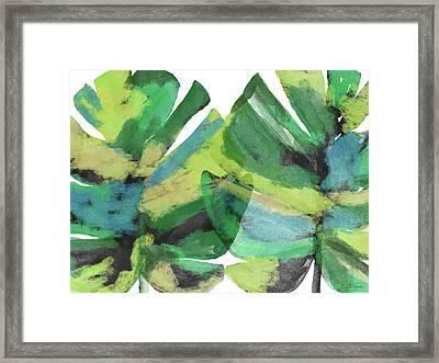 Tropical Dreams 1- Art By Linda Woods Framed Print by Linda Woods