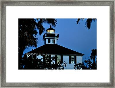 Tropical Evening Framed Print by Steven Scott