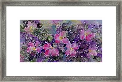 Tropical Explosion Framed Print