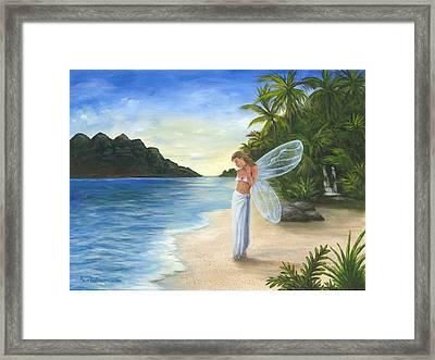 Tropical Fairy Framed Print