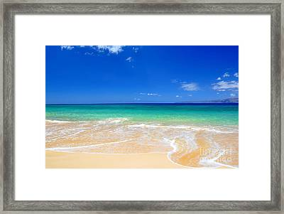 Framed Print featuring the photograph Tropical Fantasy  by Kelly Wade