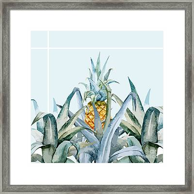 Tropical Feeling  Framed Print by Mark Ashkenazi