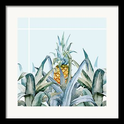 Blanket Digital Art Framed Prints