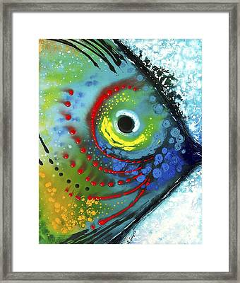 Tropical Fish Framed Print by Sharon Cummings