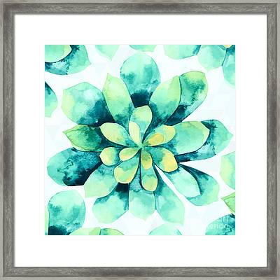 Tropical Flower  Framed Print by Mark Ashkenazi