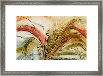 Tropical Forest Framed Print by Fatima Stamato