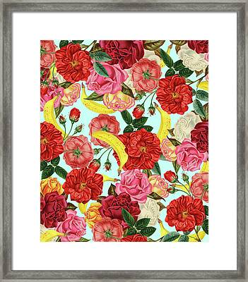 Tropical Forest Framed Print by Uma Gokhale