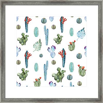 Tropical Forever 2 Framed Print by Mark Ashkenazi